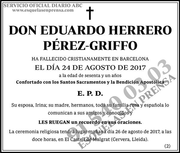 Eduardo Herrero Pérez-Griffo